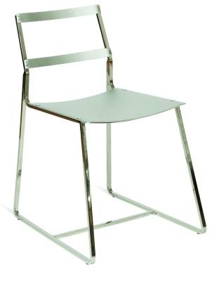 Axon Sidechair - Silver