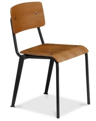 Skolar School Chair Front Angle