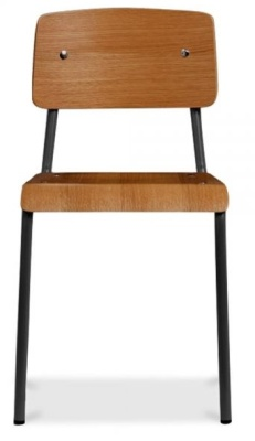 Skolar School Chair Front Face