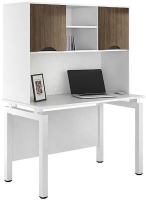 UCLIC Engage Desk With Overhead Cupboards 1
