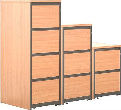 Stella Economy Wooden Filing Cabinets