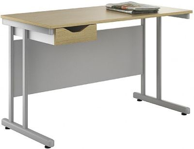 Uclic Create Sylvan Desk With A Single Drawer 2