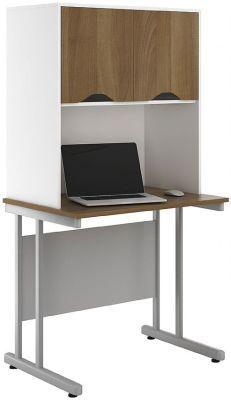 UCLIC Create Sylvan Desks With Overhead Cvupboards 2
