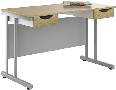 Uclic Create Sylvan Desk With Two Drawers 2