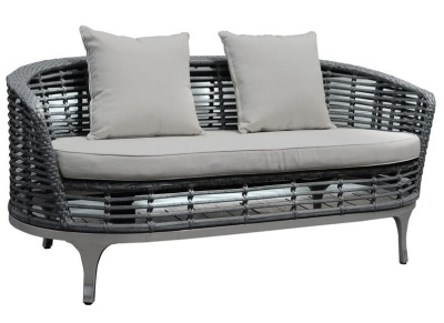 Riveria Sofa Light Grey Cushions