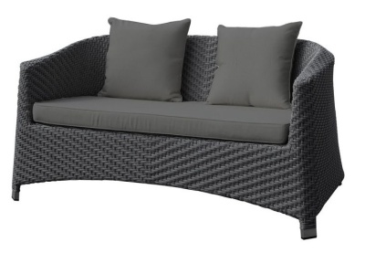 Majstic Sofa With Dark Grey Cushions