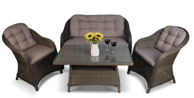 Houston Weave Sofa Set 1