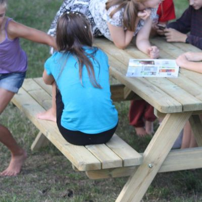 Quantrock Extra Heavy Duty Picnic Table 2