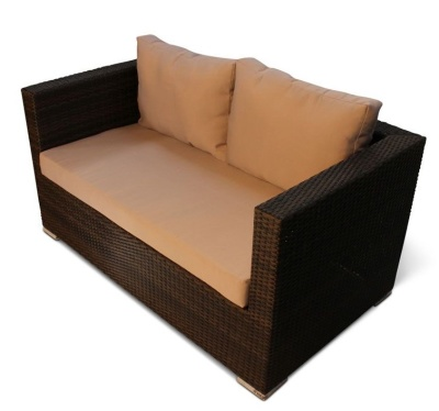 Oscar Weave Two Seater Sofa 2