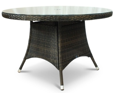 Nester Round Outdoor Weave Table