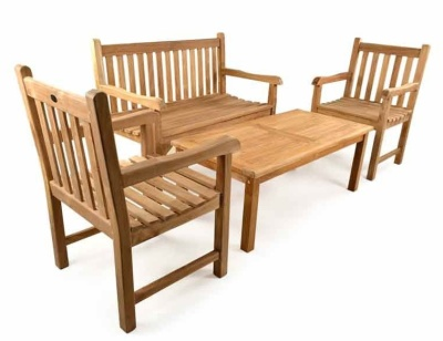 Exeter Bench Set
