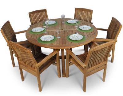 Stratford Six Seater Dining Set 1