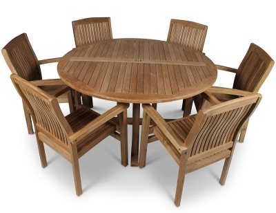 Stratfiord Six Seater Dining Set 2