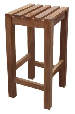 Westlea Solid Teak High Stool