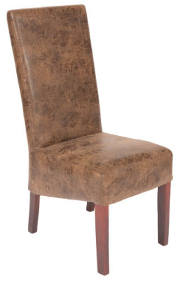 Wessex Vintage Leather Dining Chair