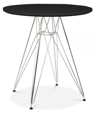 Eames DSR Table With A Black Top