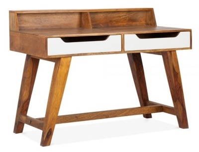 Beck Solid Mango Desk 2
