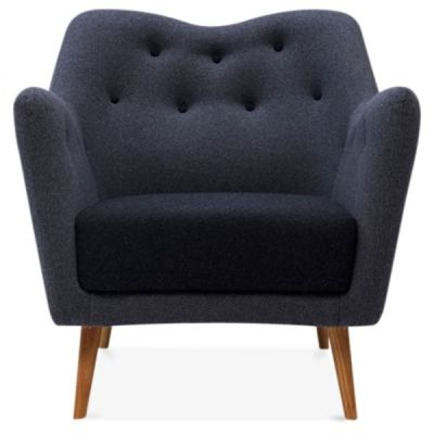 Rebecca Single Seater Armchair Front Face
