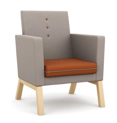 Theme Extra High Back Armchair