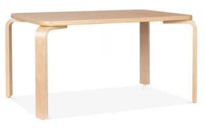 WEst Kin Childs Height Dining Table Natural Finish 1