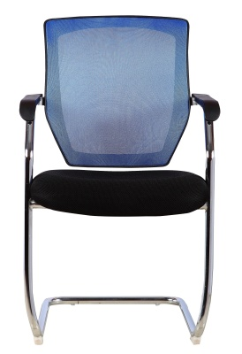 Regatta Mesh Conference Chair With A Blue Back 1