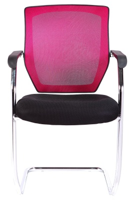 Regatta Chair With A Red Mesh Back Front View