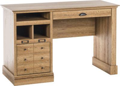 Paignton Scribed Oak Desk 2