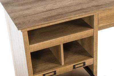 Paignton Scribed Oak Desk Detail 3