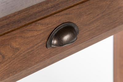 Sienna Oiled Oak Effect Desk Detail 2