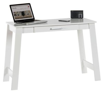 Kaluga Soft White Trstle Desk 2