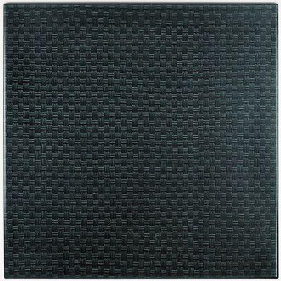 Werzalit Black Rattan Top