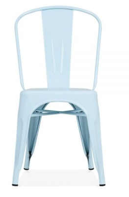 Xavier Pauchard Side Chair In Pastel Blue 2