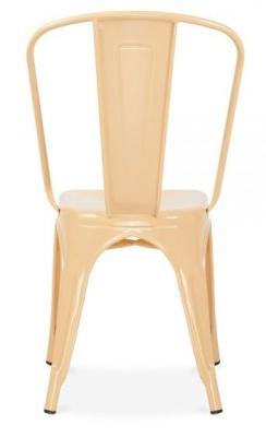 Xavier Pauchard Chair In Peach Rear View
