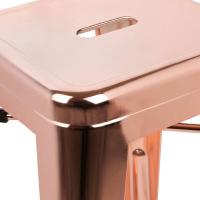 Xavier Pauchard Seat Deail In Rose Gold