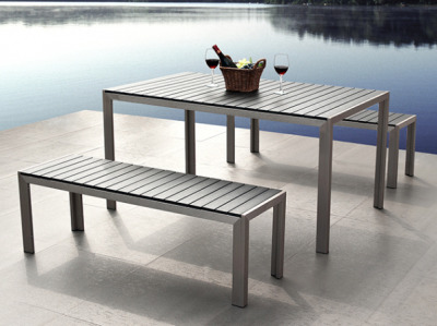 Monez Bench Dining Set