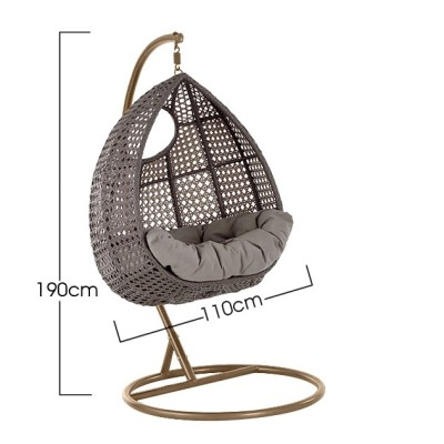 Compton Hanging Chair Dims