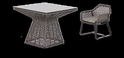 Kudu Sq Table 4chairs 632 Dims 1