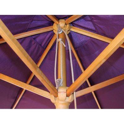 Parade Purple Parasol Detail 1