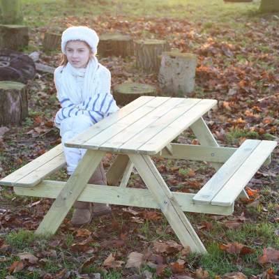 Blagdon Mini A Frame Picnic Table 1