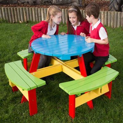 Oasis Circular Childrens Picnic Table V2