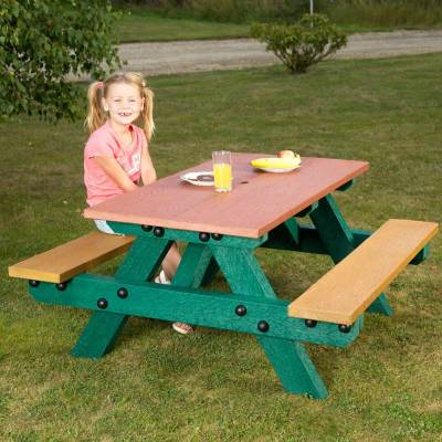 Oasis Recycled Plastic Picnic Table