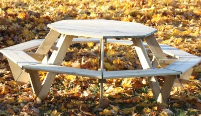 Oasis Octagonal Picnic Table