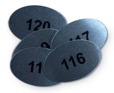 Numbered Table Discs