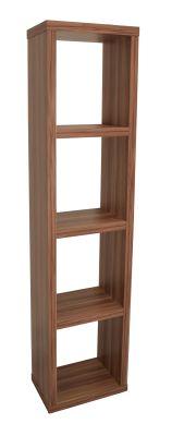 Bombay Narrow Bookcase Angle