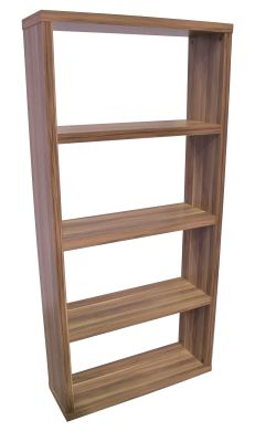 Bombay Walnut Bookcases Angle Shot