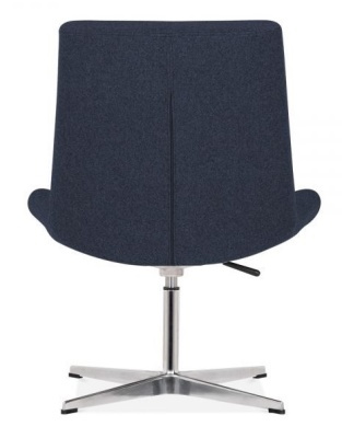 New Jersey Chair In Darrk Blue Rear View