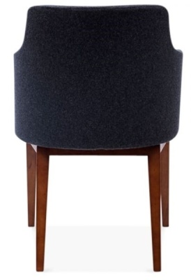 Jolly Designer Armchair Rear View