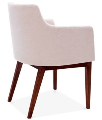Jolly Designer Armchair Pink Side Above