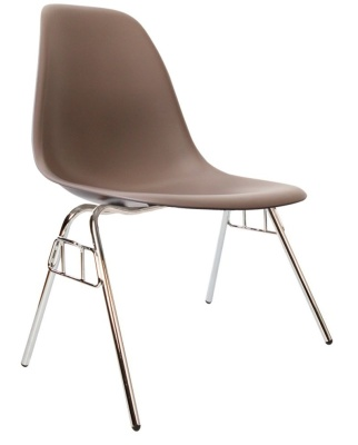 Eames Inspired Dss Chair In Slate