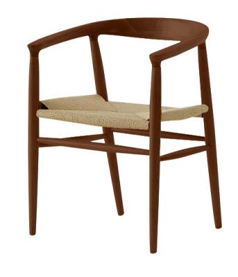 Reality Weaver Chair In Walnut